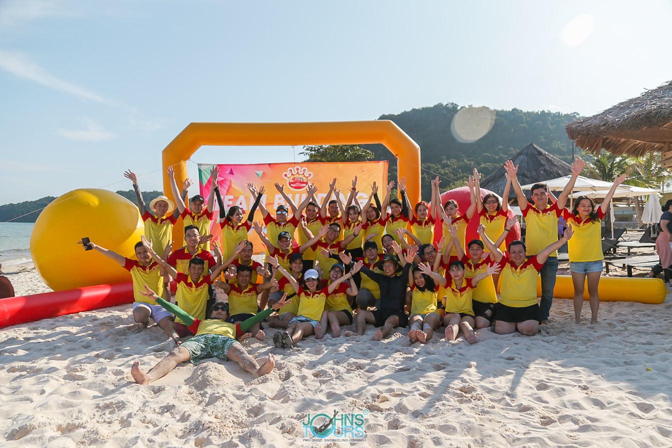 Team Building trên đảo Phú Quốc