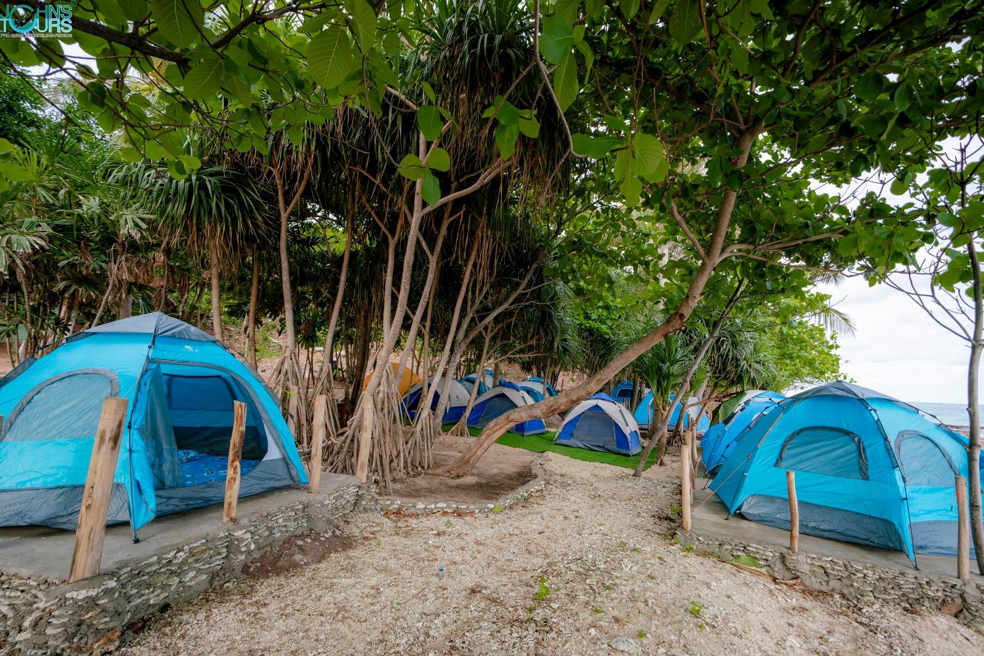 Cắm trại trên đảo