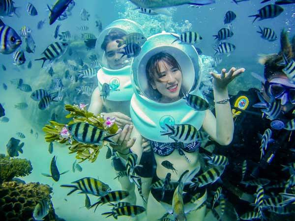 Sea walker - Đi bộ dưới biển
