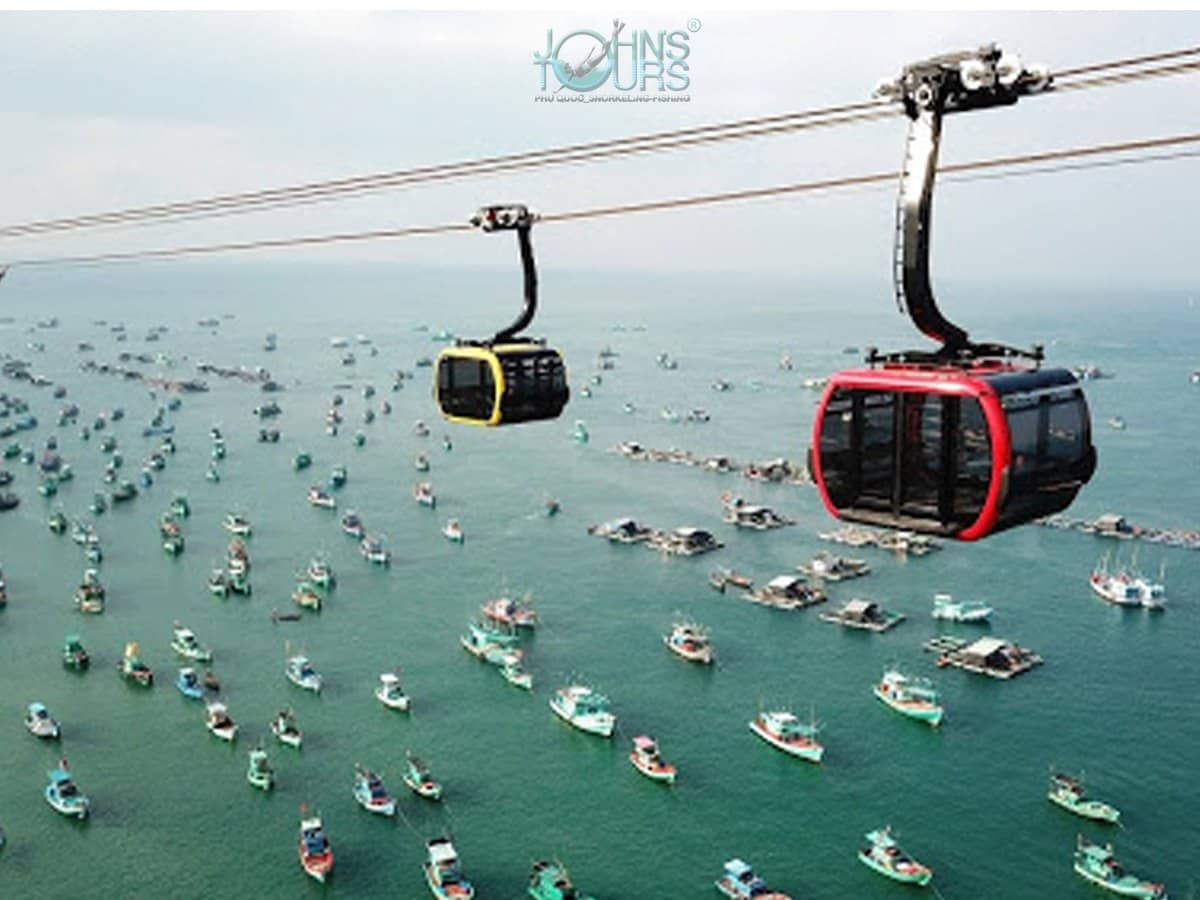 Land Tour 4: CABLE CAR + AQUATOPIA WATER PARK & LANDSCAPE SOUTH