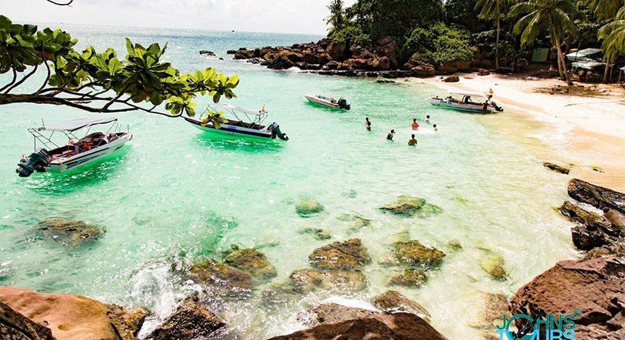 Paket 2: Linbanan - Snorkling - Sao Beach - pagoden Hu Quoc - Vattenfallet Suoi Tranh