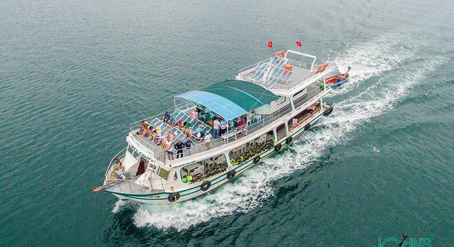 Tàu riêng Nam đảo