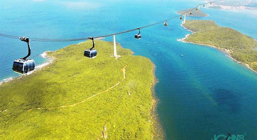 Cáp treo và cano riêng Nam đảo