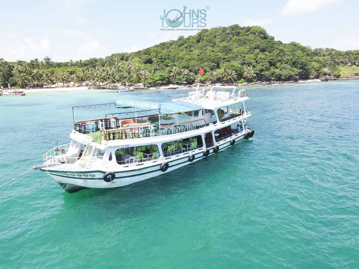 Trip 4: Cáp Treo + công viên nước Aquatopia & Tour 4 đảo Bằng Tàu (Tối đa 30 khách)